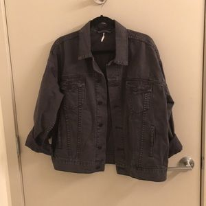 NWOT Free People denim jacket